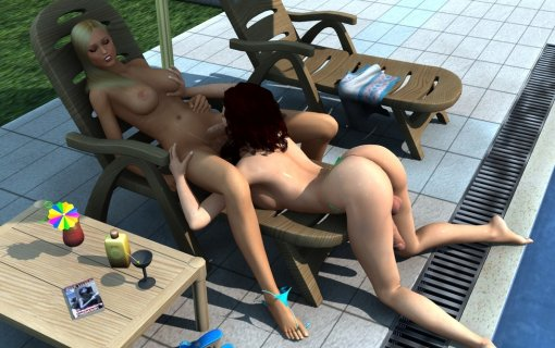 near see 3d shemale blowjob